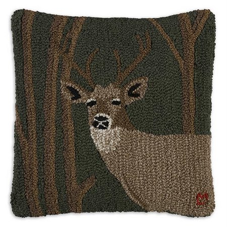 Woodland Deer Pillow