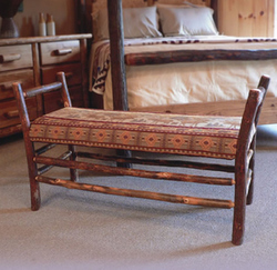 1-UPHOLSTERED-HICKORY-BENCH