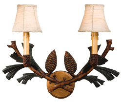 Cabin Decor Wall Sconces : Cabin Style Wall Sconces