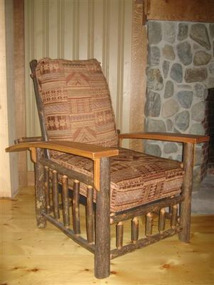 Old Hickory Morris Chair