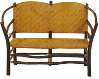Rustic Adirondack And Old Hickory Furniture - Old hickory furniture