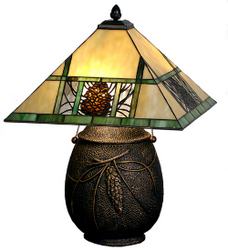 Tiffany lodge table lamps mozeypictures Images