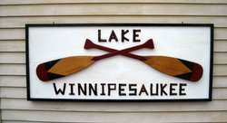 Lake Winnipesaukee Sign