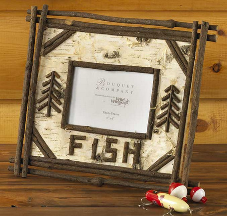Fishing picture frame for Fishing picture frame