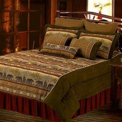 bear cabin bedding sets