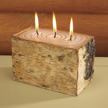 Birch Bark Candle | Cottage Surroundings