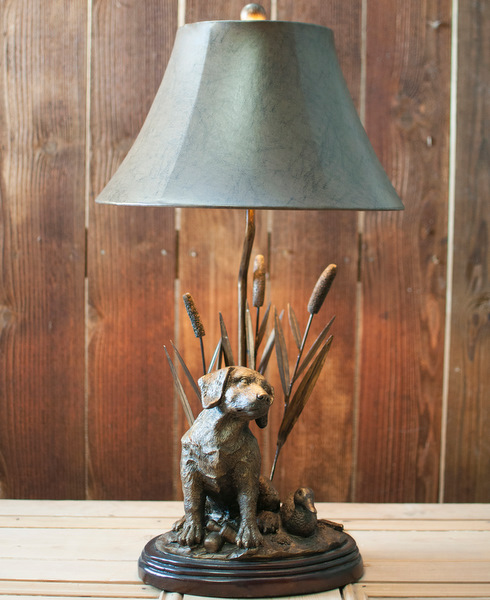 Lab Puppy Lamp