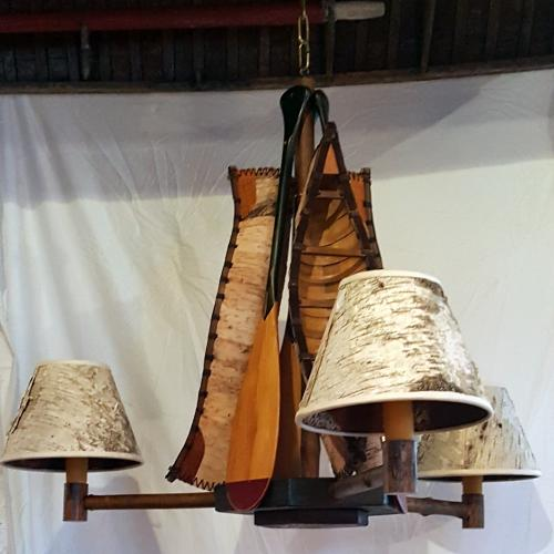 Birch-Canoe-Chandelier
