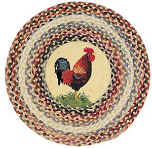 Country Kitchen Rooster Rugs