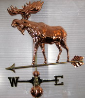 Front-moose-weathervane